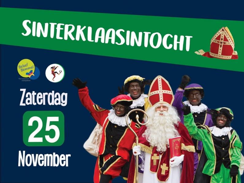Intocht Sinterklaas Groots Gevierd Carnavalsvereniging De Geintrappers Bemmel